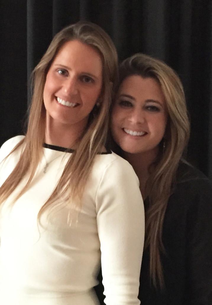 Priscila e Fabiola Lencastre, irmãs e responsáveis pelo nascimento da Feeta RH